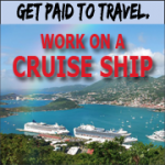 travel, cruise ship, work abroad