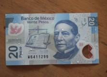Wet dinero, plastic money