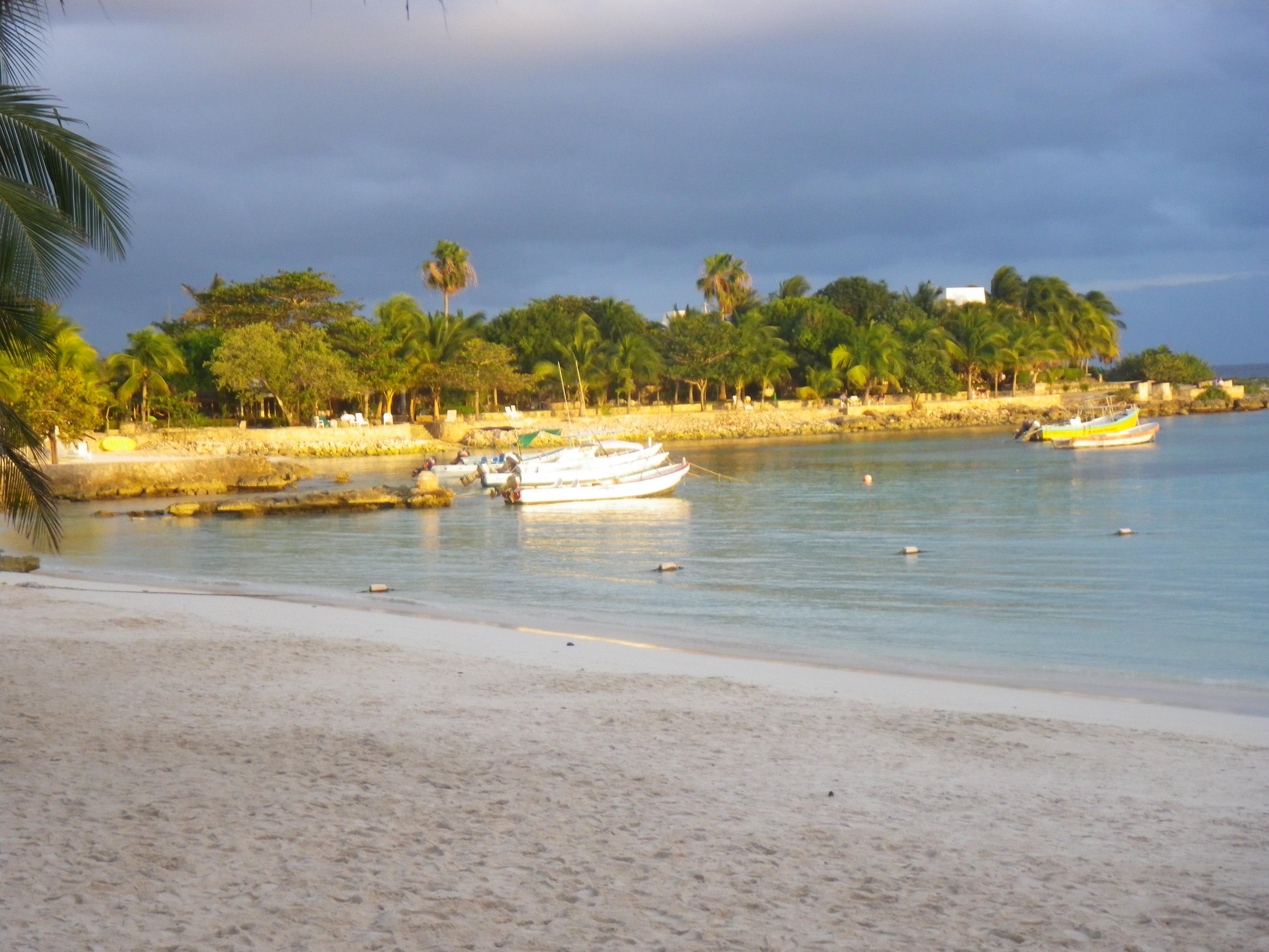 Akumal Bay Sunset, Riviera Maya, Nomad, Nomadic